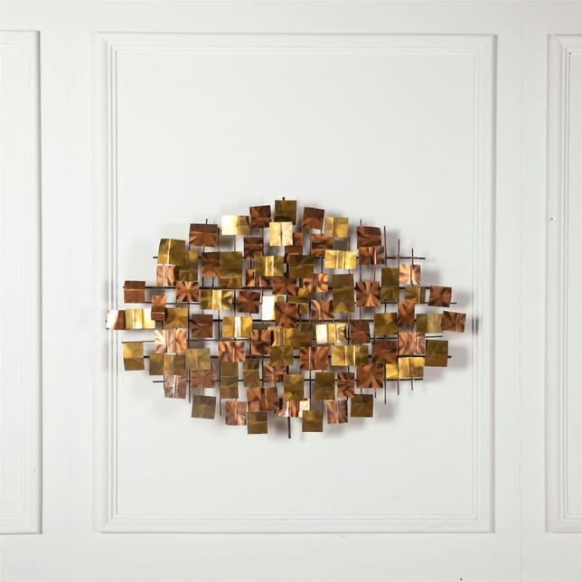 Brutalist Wall Sculpture WD3062272