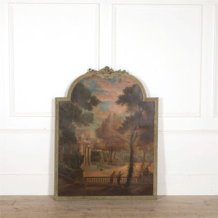 Large 19th Century Oil on Canvas WD607730