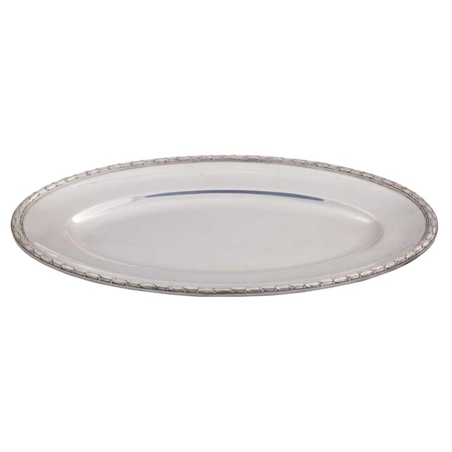 Oval Laurel Wreath Rimmed Platter DA5858841