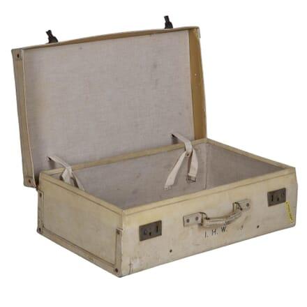 1920s Vellum Suitcase OF015300