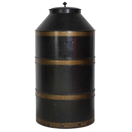 Monumental Tole Tea Cannister DA0311832