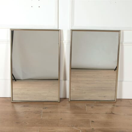 Pair of Bronze Shop Mirrors MI4362151