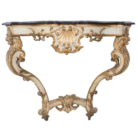 French Decorated Console Table CO0357710