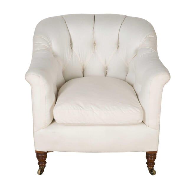 Howard & Son Buttoned Tub Chair CH7460505