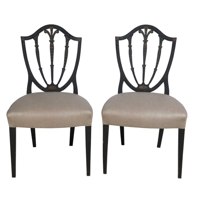 Pair of George III Side Chairs CH2355255