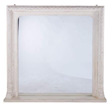 Carved Wood Painted Mirror MI7260177