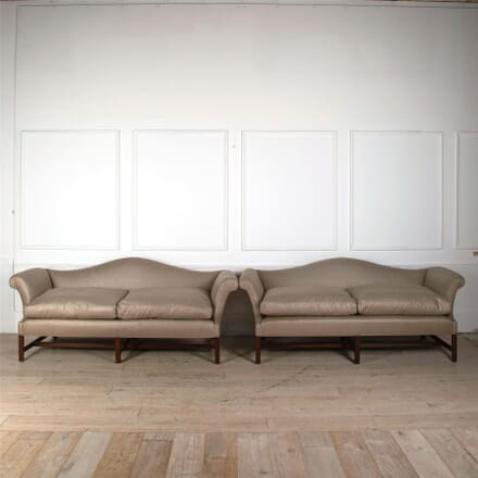 A 19th Century Chippendale Design Sofa SB0561680