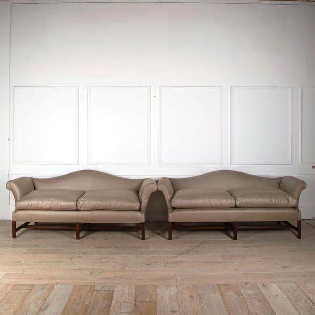 A 19th Century Chippendale Design Sofa SB0561680