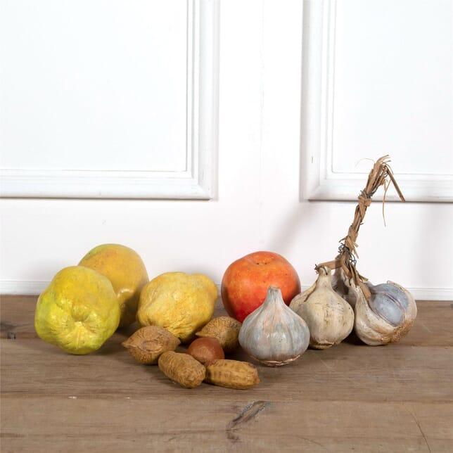 Large Decorative Terracotta Fruit DA1561870