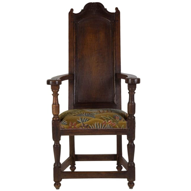 19th Century Country Oak Fireside Chair CH9910691