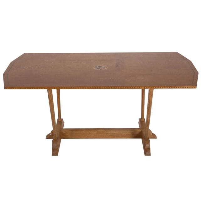 English Oak Refectory Table c.1970 TD053988