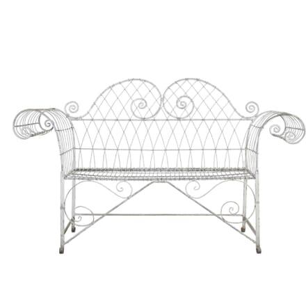 Wirework Garden Bench GA0312179