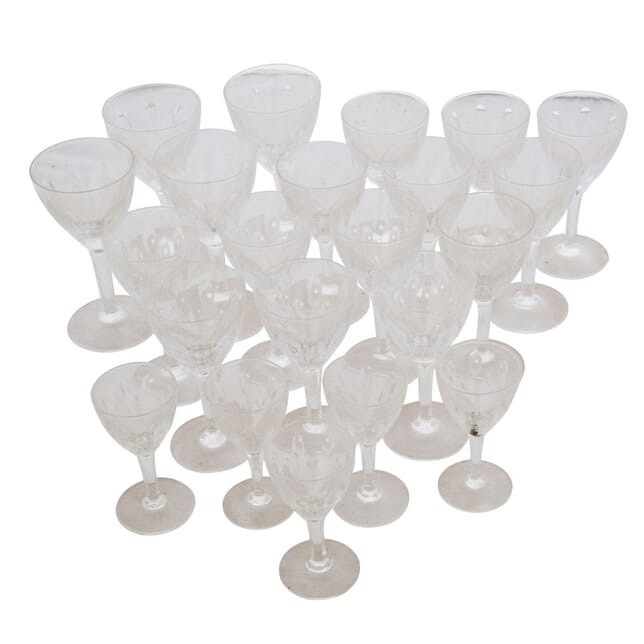 Set of 1940s Table Glasses DA178174