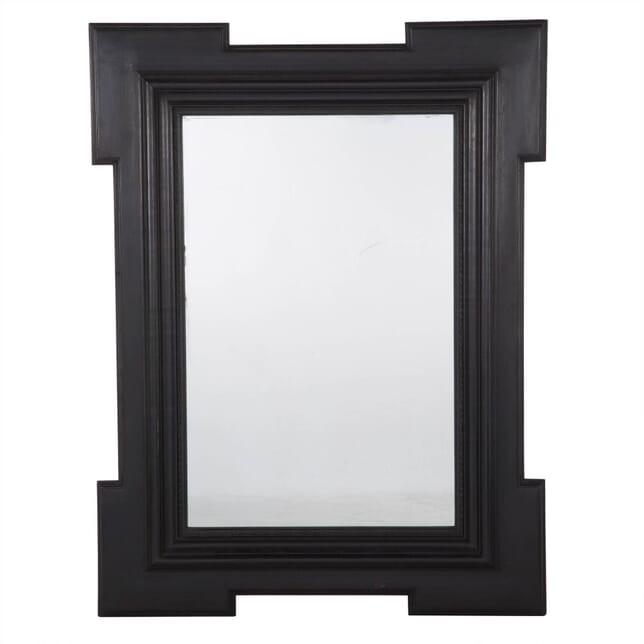 Italian Ebonised Mirror MI233499