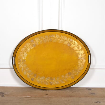 Large Oval Tole Tray DA1561865