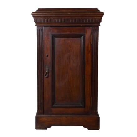 William IV Mahogany Sculpture Plinth Cabinet CU9958202
