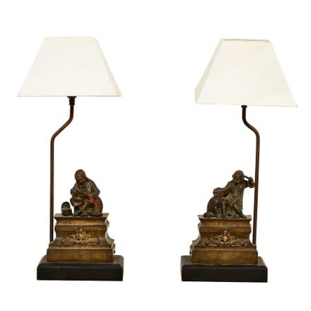 Pair of Bronze Ormolu Figures LT1511652