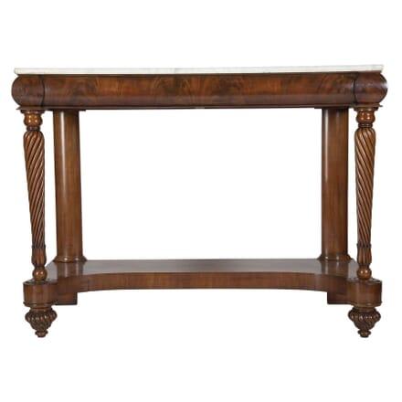 19th Century Mahogany Console Table CO4811948