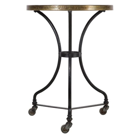 Marble and Iron Bistro Table TS3610287