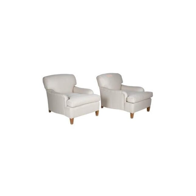 Large Pair of Howard Style Chairs CH234589