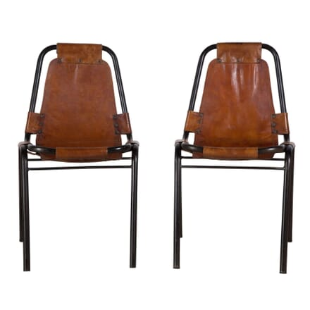 Mid Century Leather Chairs CH3753611