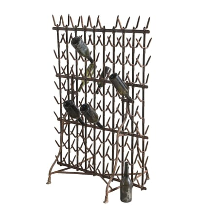 French Iron Bottle Rack DA1254297