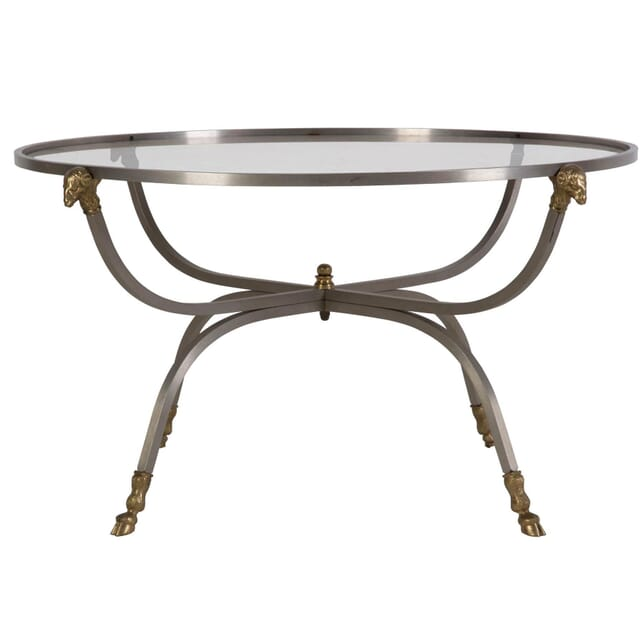 20th Century Brass & Glass Coffee Table CT139941
