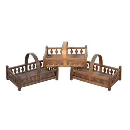 Group of Wooden Baskets DA5558033