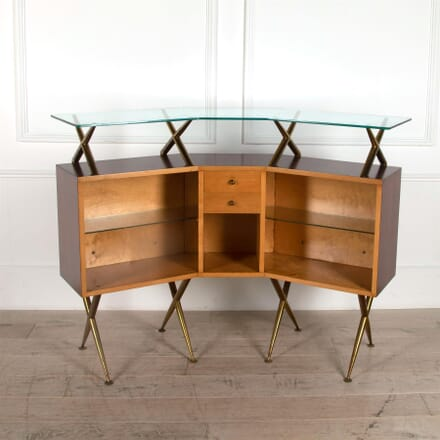 1950s Italian Freestanding Bar Cabinet OF3061587