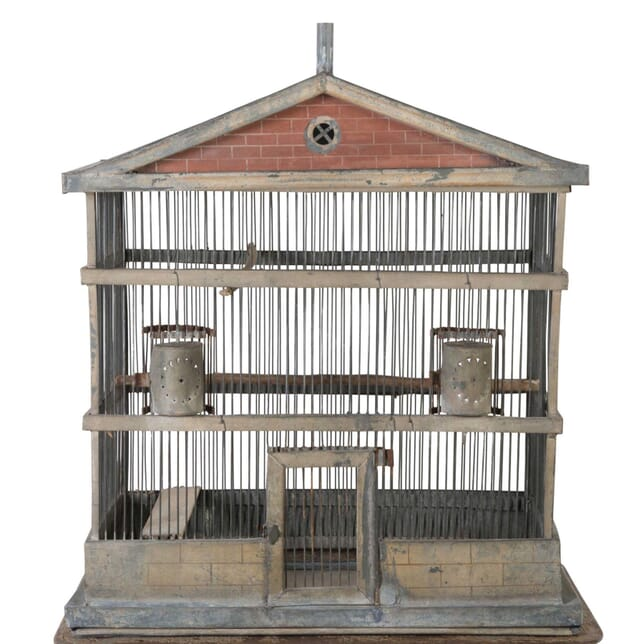 Rare Zinc Birdcage DA1512781