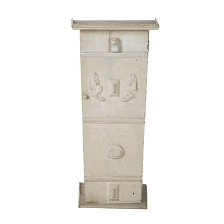 Painted Pedestal Cabinet OF015317