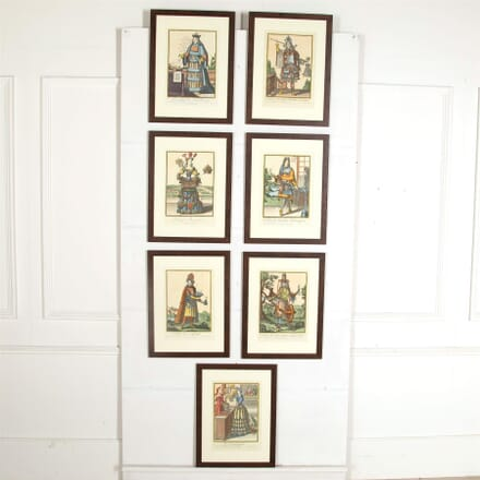 Set of Fourteen Giclee Prints After The Original 17thCentury Engravings by Nicholas de Larmessin WD997157