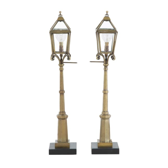 Miniature Brass Street Lamps LT1012747