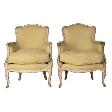 Pair of 18th Century French Bergeres CH9059667