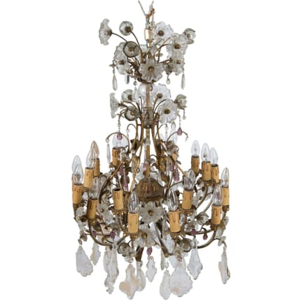 Ormulu and Glass Chandelier LC4811233