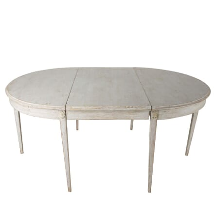 Gustavian Period Extending Dining Table TD0160084