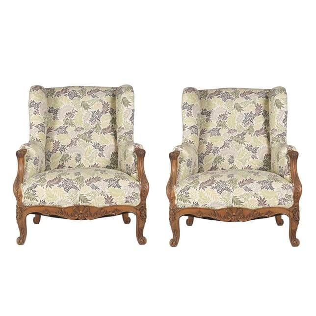 Pair of Wing Back Bergeres CH1711871