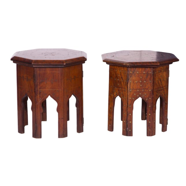 Pair of Indian Side Tables TS2358680