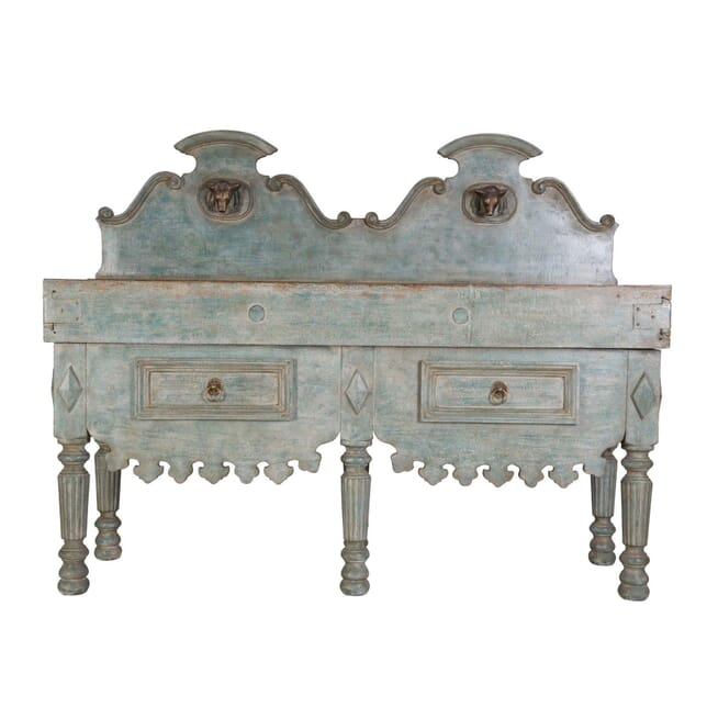 French Antique Butchers Block TS0455838