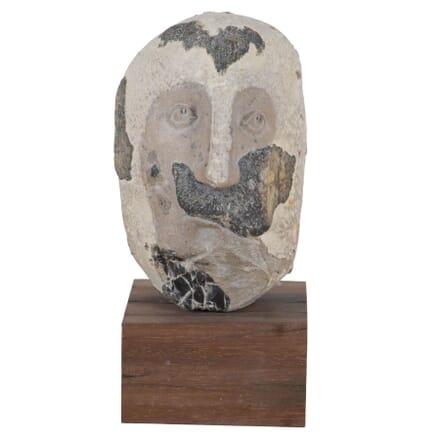 Mustachioed Head By Yulia Podolska DA406929