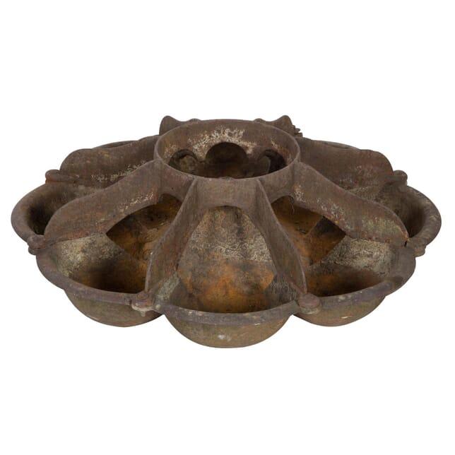 Cast Iron Piglet Feeder GA133755