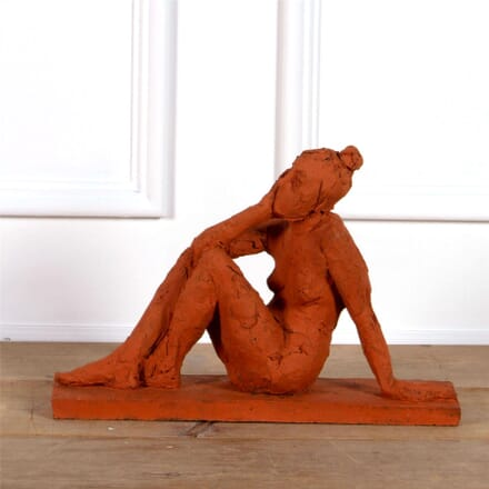 Seated Female Nude Sculpture DA0961998