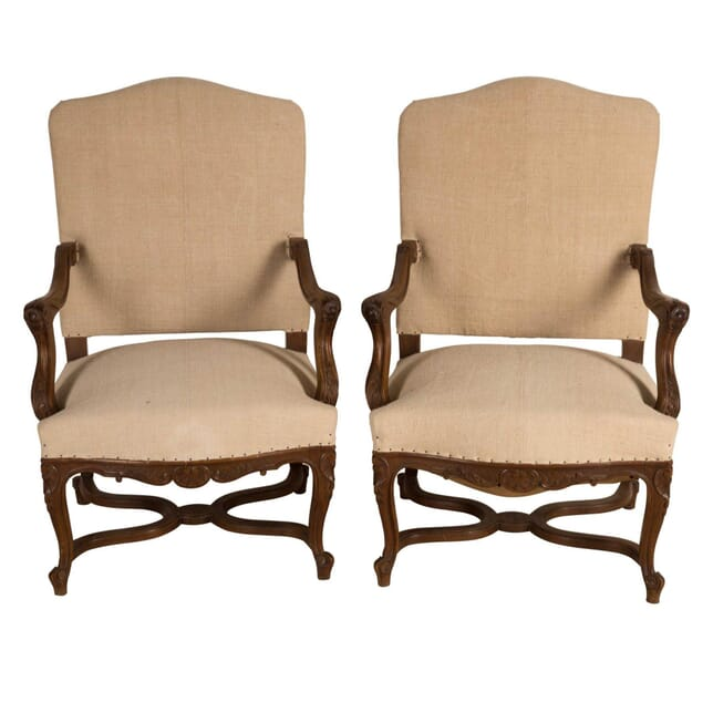 Pair of French 19th Century Armchairs CH4159047