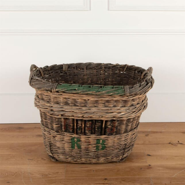 Vintage Wicker Champagne Basket GA5161466