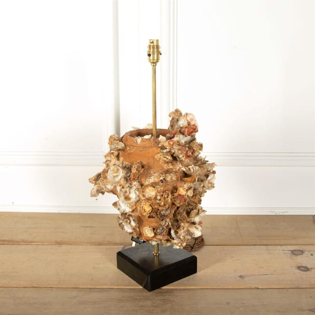 Encrusted Terracotta Octopus Trap Lamp LT217112