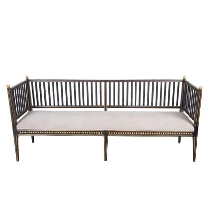 Regency Ebonised Bench SB9955507