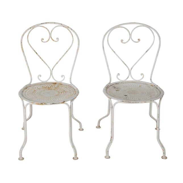 Pair of French Garden Chairs GA9060451