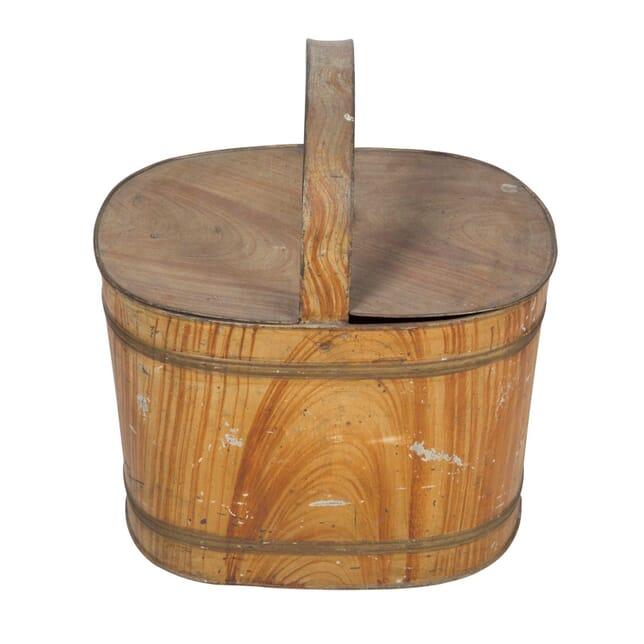 Tole Bucket with Handle DA5558016