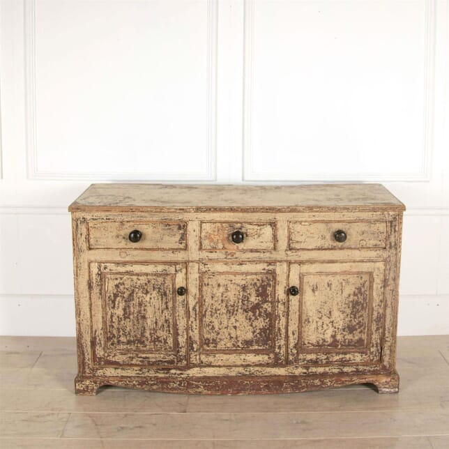 George III Period Original Painted Pine Dresser Base BU0961019