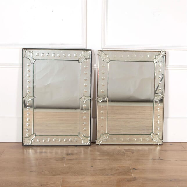 Matched Pair of Venetian Mirrors MI5561757